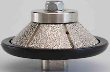 Diamond Router Bit 30mm Bevel 3cm 1 1/4 Inch E-Shape Granite Marble Counter Tops