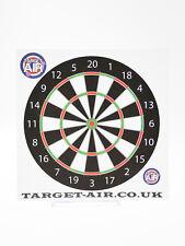 10 Bersagli in cartoncino Target Schema freccette 14 cm quadrati softair tiro al
