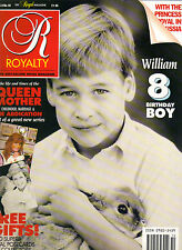 PRINCE WILLIAM UK Royalty Magazine 7/90 Vol 9 No 10 QUEEN MOTHER W/POSTCARDS