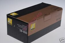 BOX FOR NIKON SB900 SB-900 FLASH,  AS SHOWN/PICTURED! BOX ONLY!!