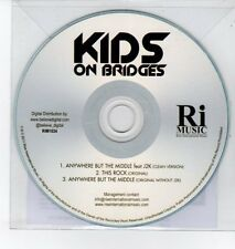 (DQ408) Kids on Bridges, Anywhere But The Middle ft J2K - 2011 DJ CD