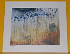 Radiohead Kid A Promo Lithograph #3 Stanley Donwood Rare US Capitol Records Mint