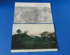 (2) Antique Post Card(s) - iLLINOIS - Cairo, Quincy & Mississippi River