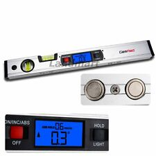 Digital Inclinometer Angle Finder Spirit Level Tool 360° Range Magnet Renovation