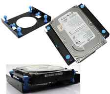 "3.5"" SSD HDD To 5.25"" Shock Absorption Hard Disk Drive Mount Bracket Caddy Dock#"