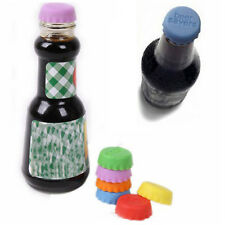 national Lids Candy Color Silicone Bottle Cap Beer Savers Sealing Plug cool! GIU