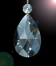 """Set of 75 2"""" High Quality 30% Lead Tear Drop Crystals For Lamp & Chandeliers!"""