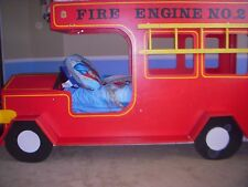 FIRE ENGINE BUNK BED PLANS