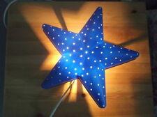 IKEA SMILA STJÄRNA CHILDREN BLUE STAR BEDROOM WALL LIGHT/NIGHT LAMP