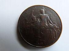 PIECE MONNAIE FRANCE 10 Centimes 1917 DANIEL-DUPUIS état voir scan bis