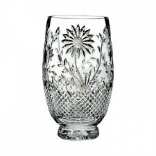 Waterford Crystal Flora & Fauna Sunflower 10 Inch Vase