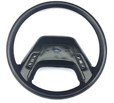 1985 Ford F-150 F-250 Pick-up Truck Steering Wheel Black Cruise Control Horn Pad