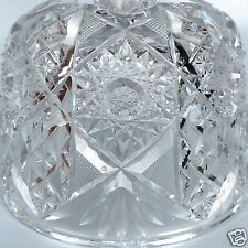 Old Or Antique ABP American Brilliant Cut Glass Cheese Dome Or Cake Cover - GL
