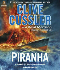 Clive Cussler PIRANHA Unabridged CD *NEW* FAST Ship! $40 Value