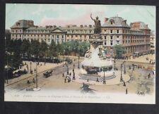 494-PARIS -833 Caserne du Château-d'Eau et Statue de la République.