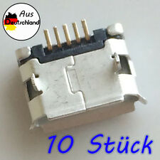 10 Stück Buchse 5 Pin 5P Ladebuchse Lade Connector Tablet Handy Smartphone