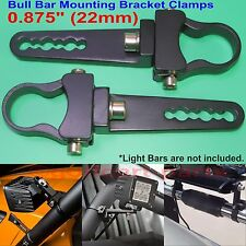 0.875 inch Tube Bull Bar/Roll Bar Mount Bracket Clamp for Off Road LED Light Bar