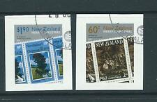 NEW ZEALAND 2010 CHRISTMAS SELF ADHESIVE BOOKLET SET OF 2 FINE USED