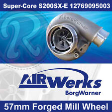 Borg Warner S200SX-E Super-Core Turbo 57mm Inducer - Forged Mill Wheel-BRAND NEW