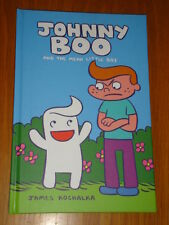 JOHNNY BOO AND THE MEAN LITTLE BOY JAMES KOCHALKA HARDBACK 9781603090599