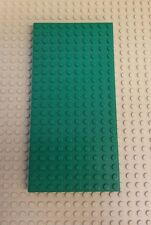 LEGO ~ Green ~ 10 x 20 with Bottom Tubes ~ Cross Support ~700eD