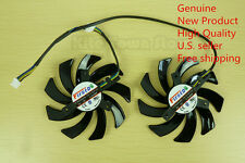 85mm Video Card Dual-X Fan FD7010H12S for Sapphire Radeon HD7850 7870 7950 39mm