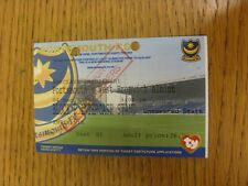 04/12/2004 billet: portsmouth/west bromwich albion [stands fond] (punche