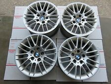 "16"" BMW E39 528I 525I 549I PARALLEL SPOKE ALUMINUM WHEELS RIMS OEM SET 16X7"
