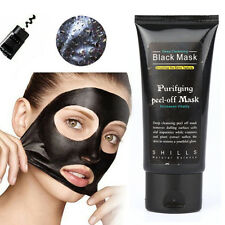 Black Mud Face Mask Blackhead Remover Deep Cleansing Peel Acne Treatment XN