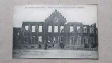 CPA animée  La Grande Guerre 1914-18 Le couvent St-Vincent-de-Paul en ruine