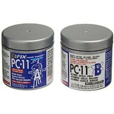 1 LB PC11 WHITE EPOXY CEMENT,PASTE MARINE GRADE Works on Wet or Dry Surfaces