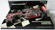 F1 1/43 MCLAREN MP4/23 MERCEDES KOVALAINEN SHOWCAR 2008 MINICHAMPS