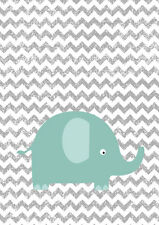 Nursery Pictures - Unique Baby Shower Gifts - Art - Animals - Elephants