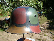 WW1 ERA GERMAN M-16 HELMET TJ66