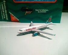 Gemini Jets GJAWE181 America West Airlines 1/400 scale Airbus A319 N814AW model