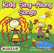 Unknown Artist Kids Sing-Along Songs (includes a colori CD
