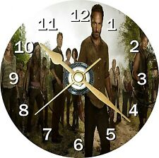 The Walking Dead 1 Novelty Cd Clock Can be personalised
