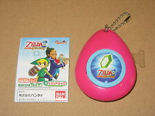 The Legends of Zelda Sound drops musical Keychain Nintendo 2007 Rare (pink)