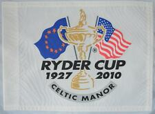 2010 OFFICIAL Ryder Cup (Celtic Manor) SCREEN PRINT Golf FLAG