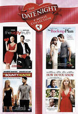 Date Night 4-Movie DVD the ugly truth/back-up plan/bounty hunter/how do you know