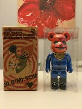 "400% Bearbrick Be@rbrick HELLO MR. SCUM VALENTINE MODEL ""Barking love western"""