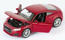 BLITZ VERSAND Audi TT Coupe 2014 rot met. / red Welly Modell Auto 1:24 NEU & OVP