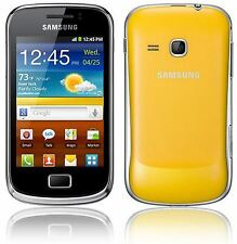 Samsung Galaxy Mini 2 GT-S6500 Yellow - (Unlocked) Grade A + Warranty
