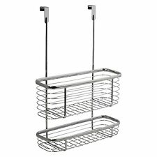 InterDesign Axis Over the Cabinet, X3 Basket, Chrome, New, Free Shipping