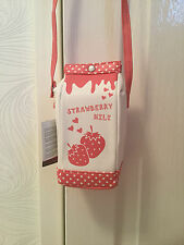 NEW NOVELTY STRAWBERRY MILK / MILK CARTON / MILKSHAKE SHOULDER BAG / PURSE