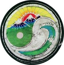 Sunset Wave Yin Yang Batik - Bumper Sticker / Decal