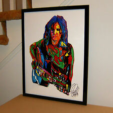 Alex Chilton, Big Star, Box Tops, Vocals, Guitar, Rock Music, 18x24 POSTER w/COA