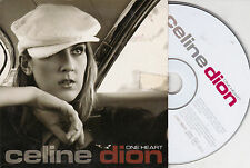 CD CARTONNE CARDSLEEVE CELINE DION ONE HEART 2 VERSIONS DE 2003