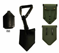 US Military E-Tool Entrenching Shovel with Olive Drab Cover New Surplus