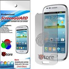 4 Pellicola Opaca Per Samsung Galaxy S3 Mini i8190 Antiriflesso Antimpronta